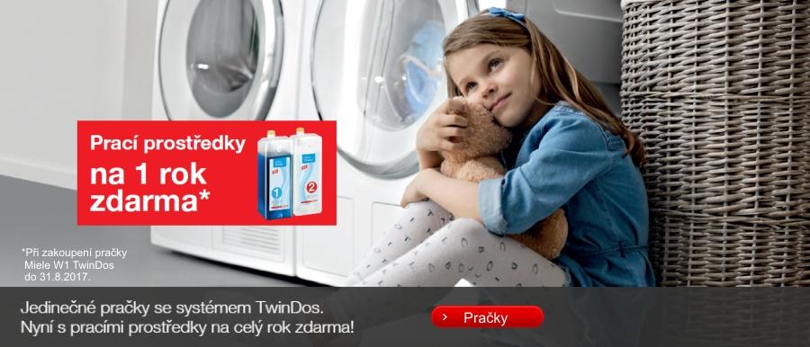 Automatické pračky s TwinDos