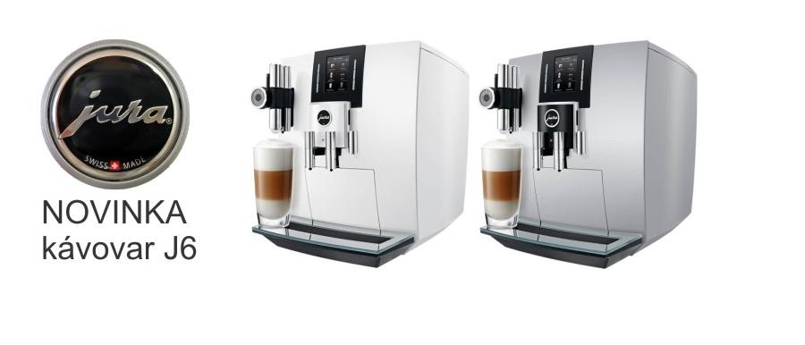 Novinky Kávovar J6