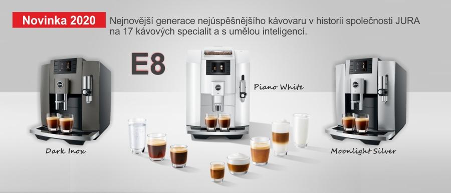 Nejúspěšnější kávovar E8