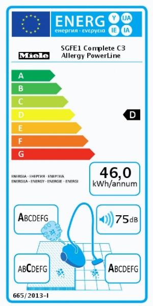 MIELE Complete C3 Allergy PowerLine