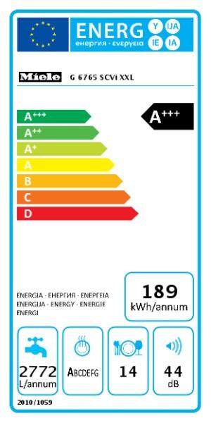 MIELE G 6765 SCVi XXL EcoFlex