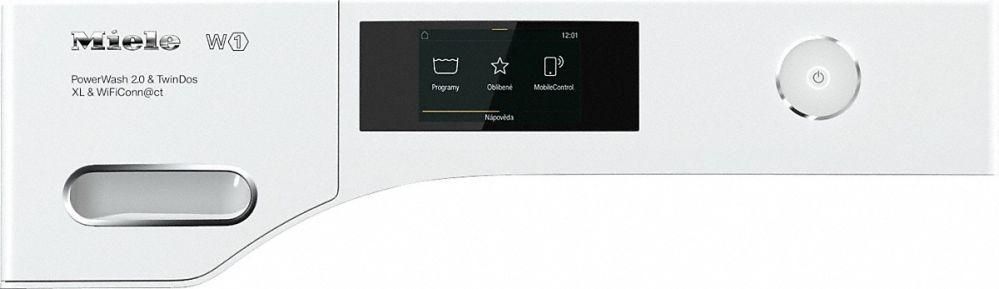MIELE WWR 860 WPS PWash2.0&TDos XL&WiFi + TWR 860 WP Eco&Steam WiFi&XL