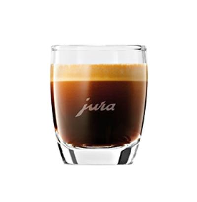 Espresso skleněný šálek