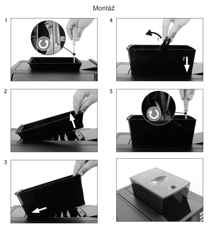 Rozšíření zásobníku na zrnkovou kávu