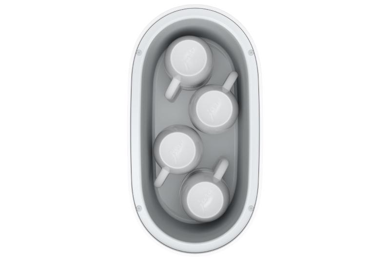 Ohřívač šálků malý bílý