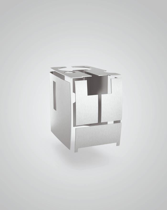 ENA 8 TOUCH Massive Aluminium