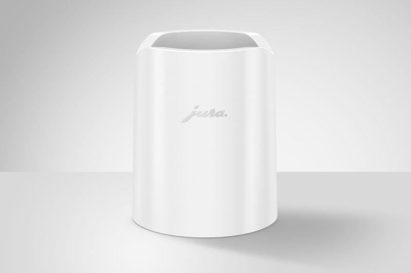 Glacette chladič skleněné nádoby na mléko bílý